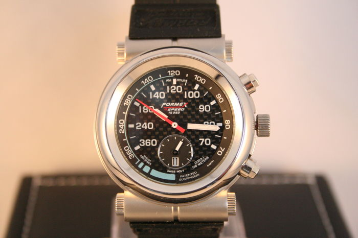 Formex 4 Speed - TS-350 Chronograph - Steel Black - 男士 - 2011至今