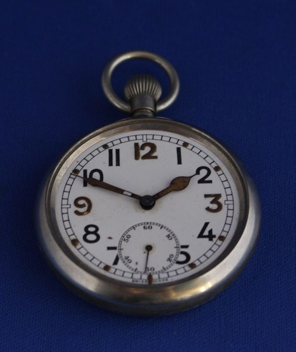 English Pocket Watch - RAF