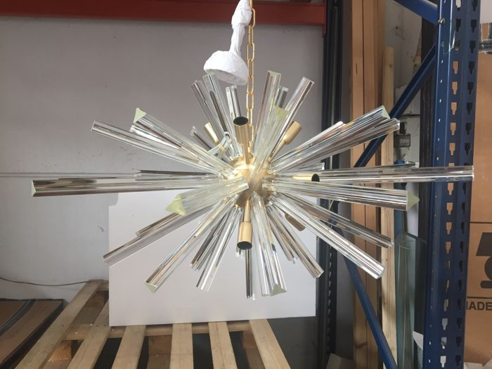 Unknown designer - Sputnik Triedo pendant light in Murano glass