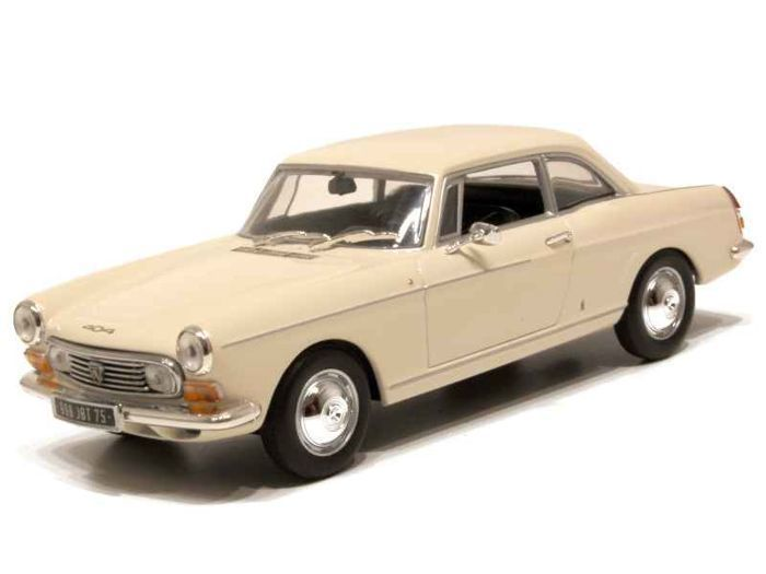 MiniChamps - 1:43 - Peugeot 404 Coupé 1962 - Limited Edition of 3.024 pcs.