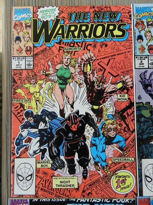 The New Warriors Annual No.4 1994 Fabian Nicieza /& Stephen Jones