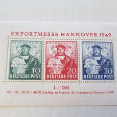 Germany FRG and some GDR 1940/1980 - including better material in stock books, on cards and in sachets
