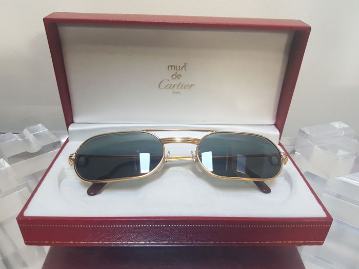 Rare Cartier Must Louis vintage  – Sunglasses – Unisex
