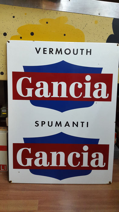 Sign - Gancia Vermouth Spumanti - 1990s