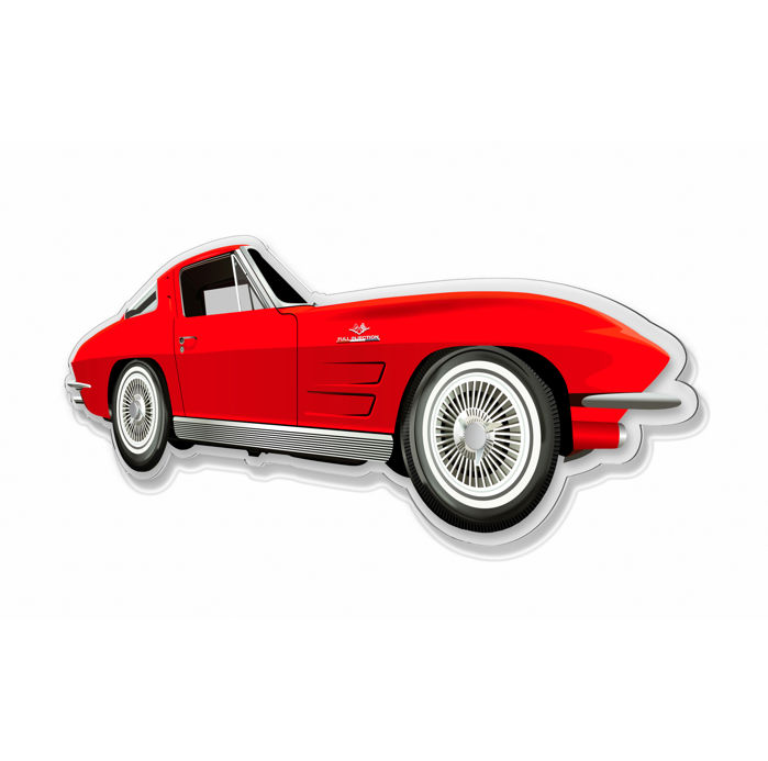 Dekoration - SL-Halmo Collection Corvette Stingray - 2018