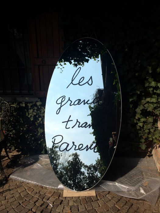 "Man Ray for Simon Collection, Cassina - ""Les Grands Trans-parents"" mirror"