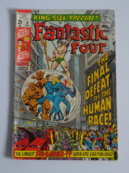 Fantastic Four King-Size Special #8. Lovely book we would grade as a 6.5