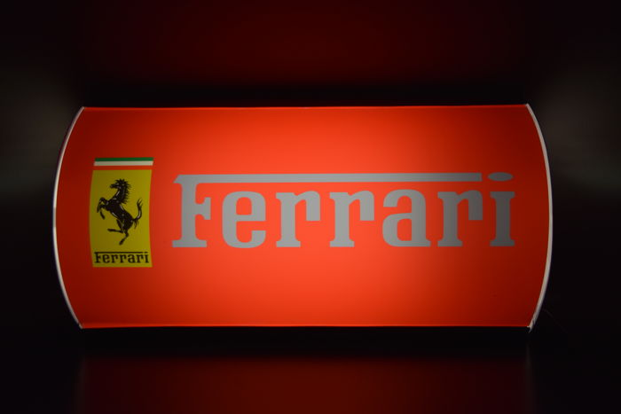 Ferrari lamp, rare, collector's item