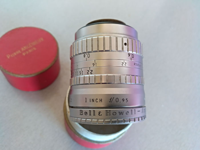 Bell & Howell Angenieux 1 Inch (25mm) f/0,95 Lens C Mount - France