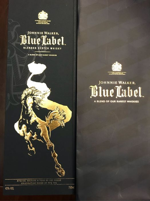 Johnnie Walker Blue Label Year of the Zodiac Horse Collection - 750ml