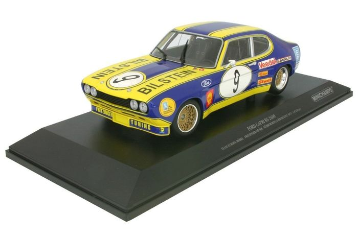 Minichamps - Scale 1/18 - Ford Capri RS 2600 Team Europa Mobel #9 ...