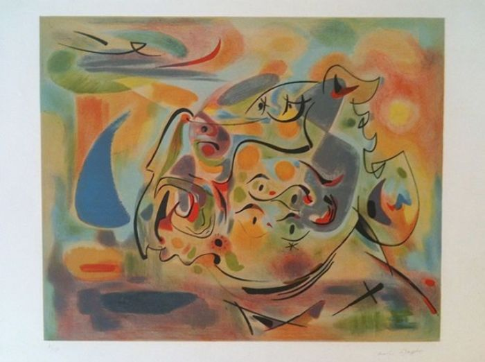 André Masson (1896-1987) - L' Aquarium