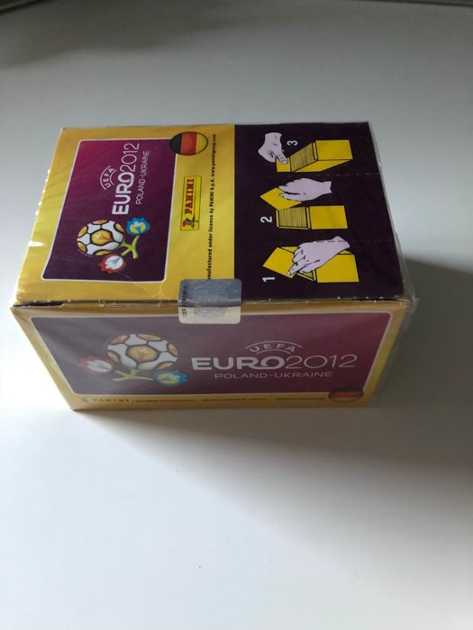 Panini - South Africa 2010 + Euro 2012 - 2 sealed boxes.