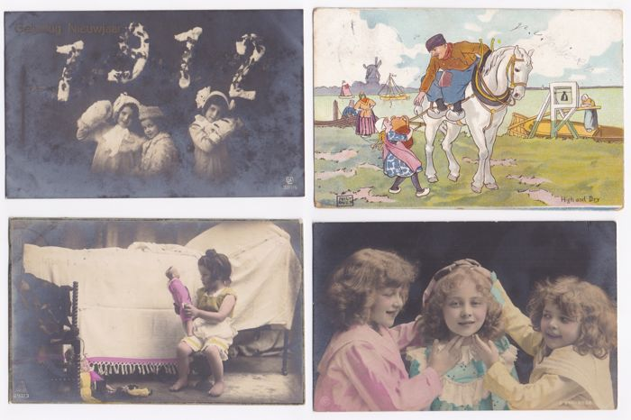 Child & Children 120x - Beautiful nostalgic cards, theme Child & Children