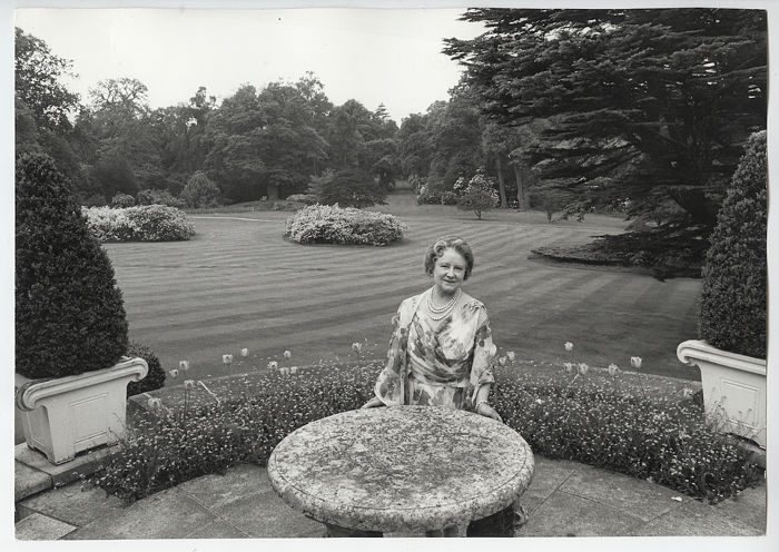 Cecil Beaton (1904-1980) - HM Queen Elizabeth, The Queen Mother at 70, 1970