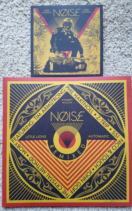 Shepard Fairey - NØISE REMIXED  and NØISE State Violence State Control