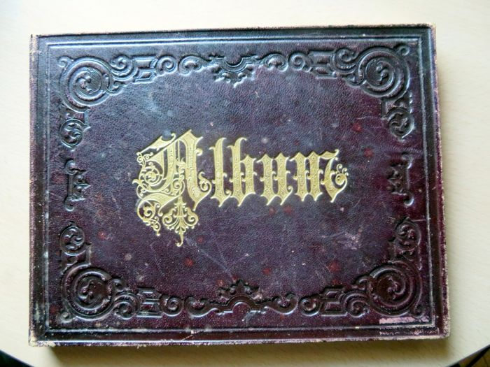 Poetry album by F. Pfitzner from Ulm from 1862-1902 - 1862.