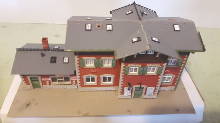 Faller, Kibri, Pola, Vollmer H0 - Scenery - Station, handle, holiday homes and a block post