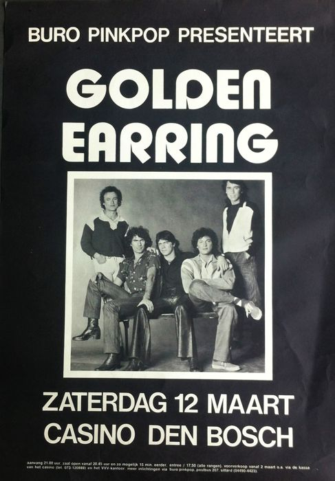 Anonymous - Golden Earring - ca.1980