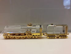 Swarovski 'Journeys' Gold Locomotive/Train - 220505