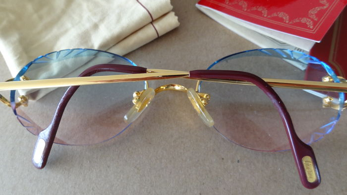 Cartier - Rimmless Sunglasses - Vintage