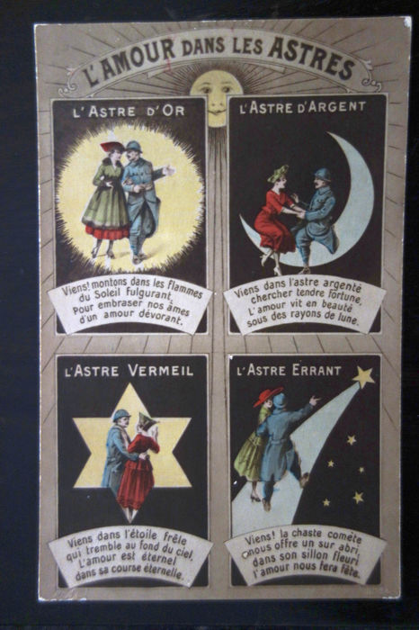 lot of 68 International Set of Astronomy/ Space Postcards of 110 years