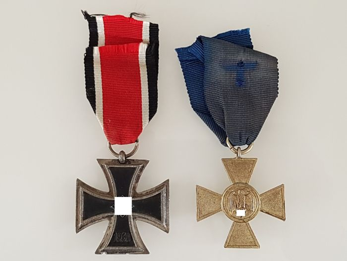 2 German Third Reich medals