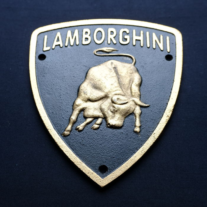 "Lamborghini – advertising sign the ""Lamborghini Bull"" -  Italy"