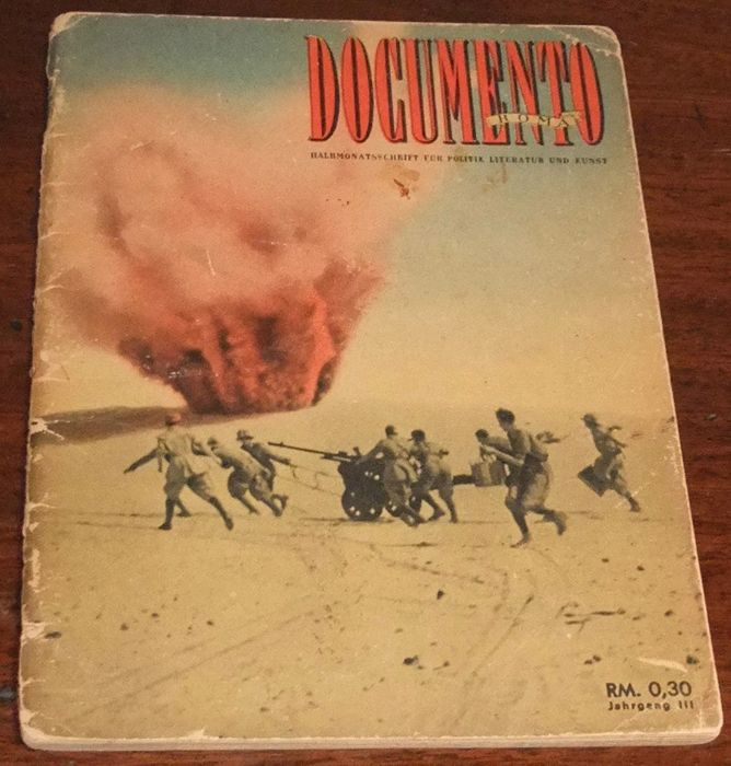 Rare WWII German/Italian Booklet 'Documento' No.5 March 1943