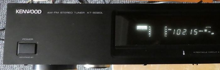 Excellently tested Tuner KENWOOD KT-5020L in near mint condition