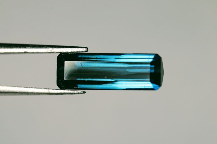 Indicolite Tourmaline - 1.92 ct - Fine Color Quality