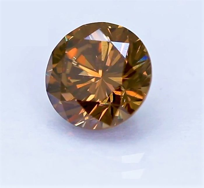 1.39 ct VS1  Natural Fancy Reddish Brown Diamond - VG / VG **** LOW RESERVE ****