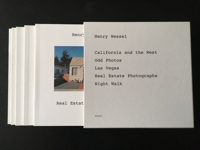 Henry Wessel - Real Estate Photographs / Odd Photos / Las Vegas / Night Walk / California and the West - 2005