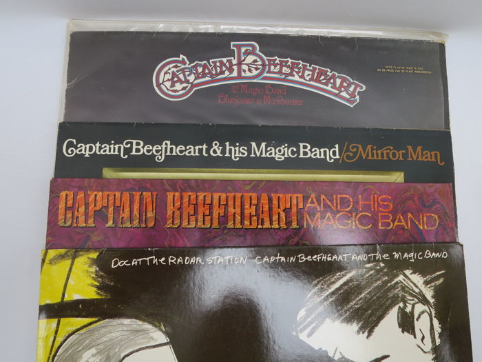 Captain Beefheart and the magig band - lot of 4