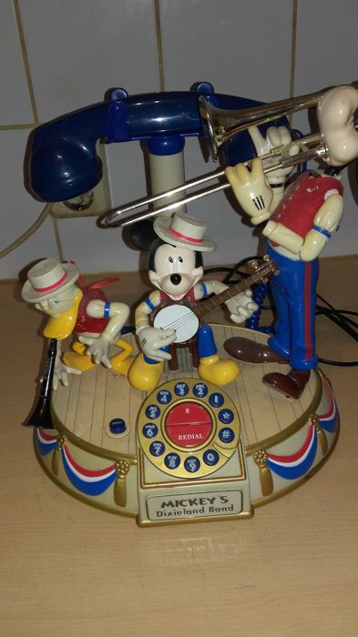 Walt Disney - Animated Telephone - Mickey Mouse Dixieland Band - Other - (1980)