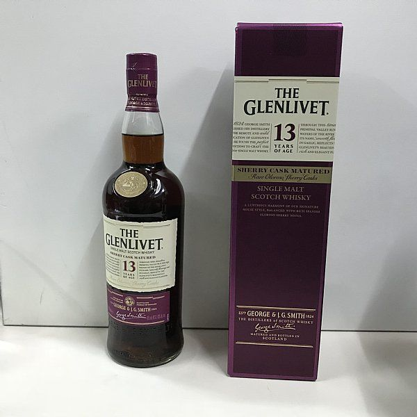 3 bottles - Glenlivet 13 years old Rare Oloroso Sherry Cask Taiwan Exclusive Edition