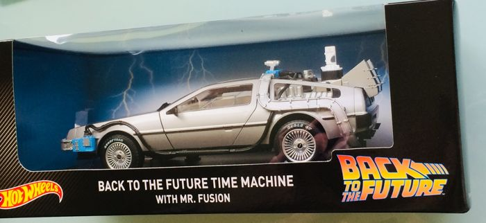 Car Wheels Delorean The Future To Time Scale Back 118 Hot xBoeQWCrd