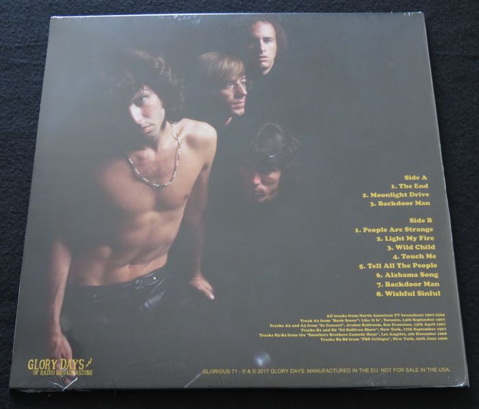The Doors - Great lot of 3 LP's, including 1 very limited, numbered