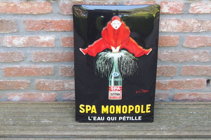 Advertising board for SPA MONOPOLE