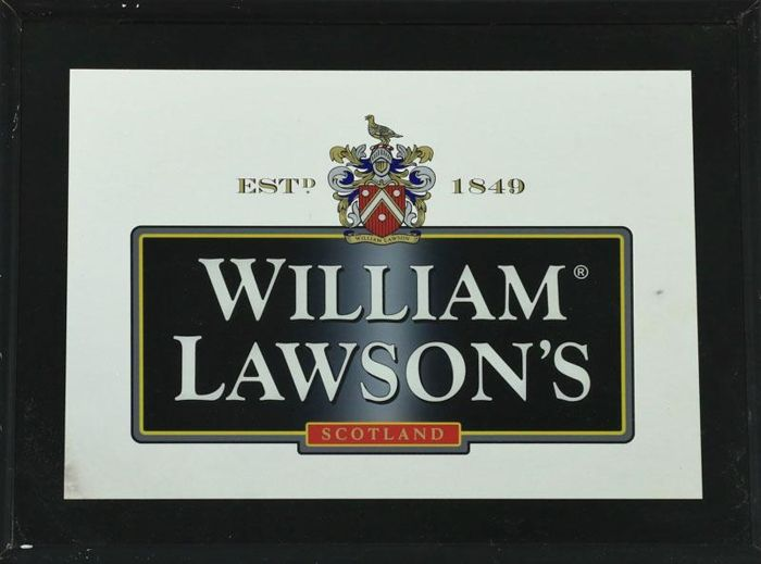 WILLIAM LAWSON`S - wall mirror -  48x63 cm