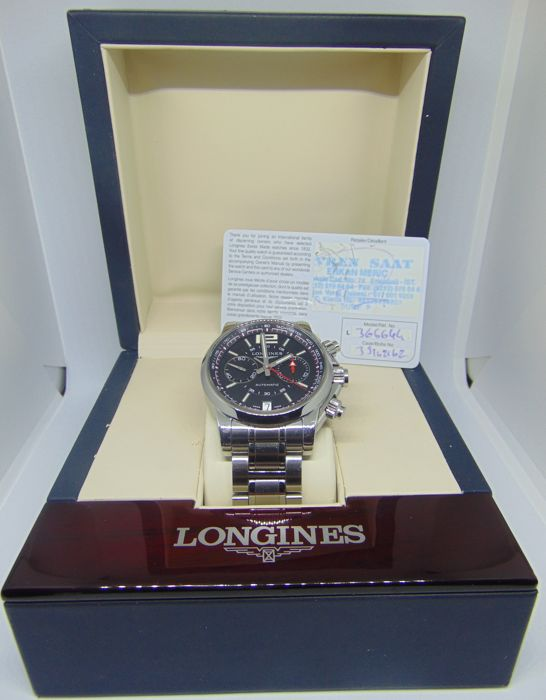 Longines - Admiral Chronograph - L3.666.4 - Heren - 2011-heden