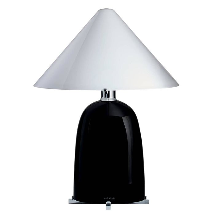 Carlo Moretti - black and white lamp (69 cm)