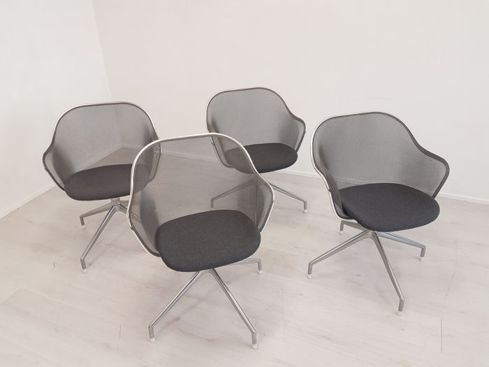 Antonio Citterio for B&B Italia - 4 'Luta' chairs