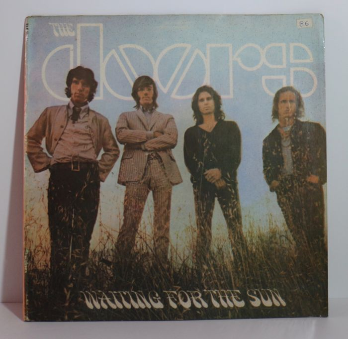 The Doors : 4 Original LP Albums including 2 gatefold editions