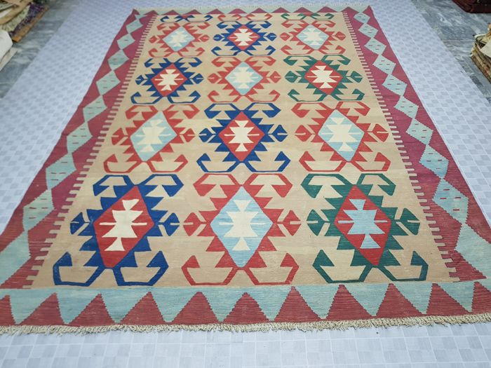 Turkish Kilim 345 cm x 253 cm