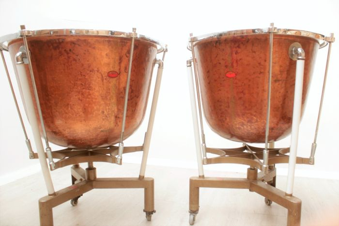 Set of 2 Timpani - Red copper