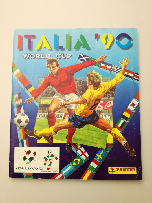 Panini - World Cup Italy 1990 - Full album.