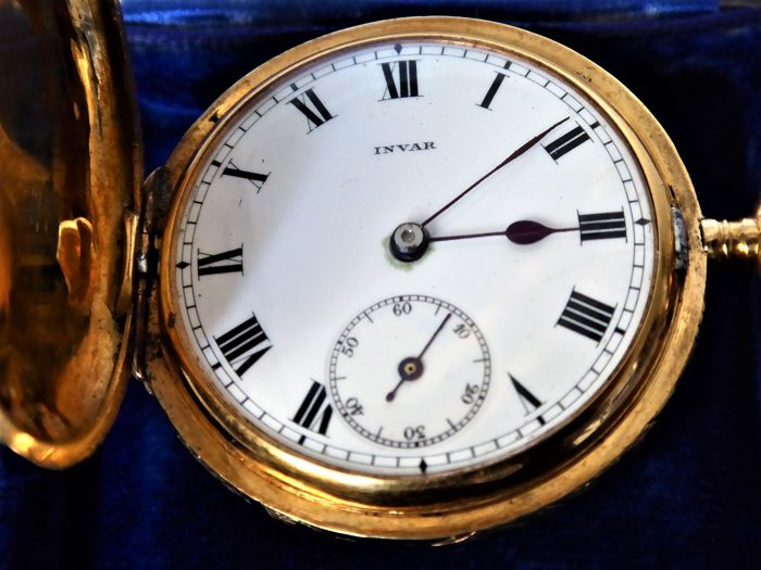 Invar -  pocket watch. - Unisex - 1850-1900