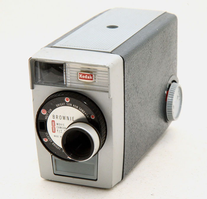 Kodak Brownie double 8 f/2.7