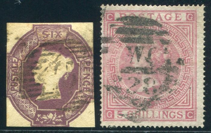 Great Britain 1867/83 - Queen Victoria, Stanley Gibbons 58, 126